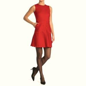 NWT RED VALENTINO Rick Rack Dress 40 (US4)